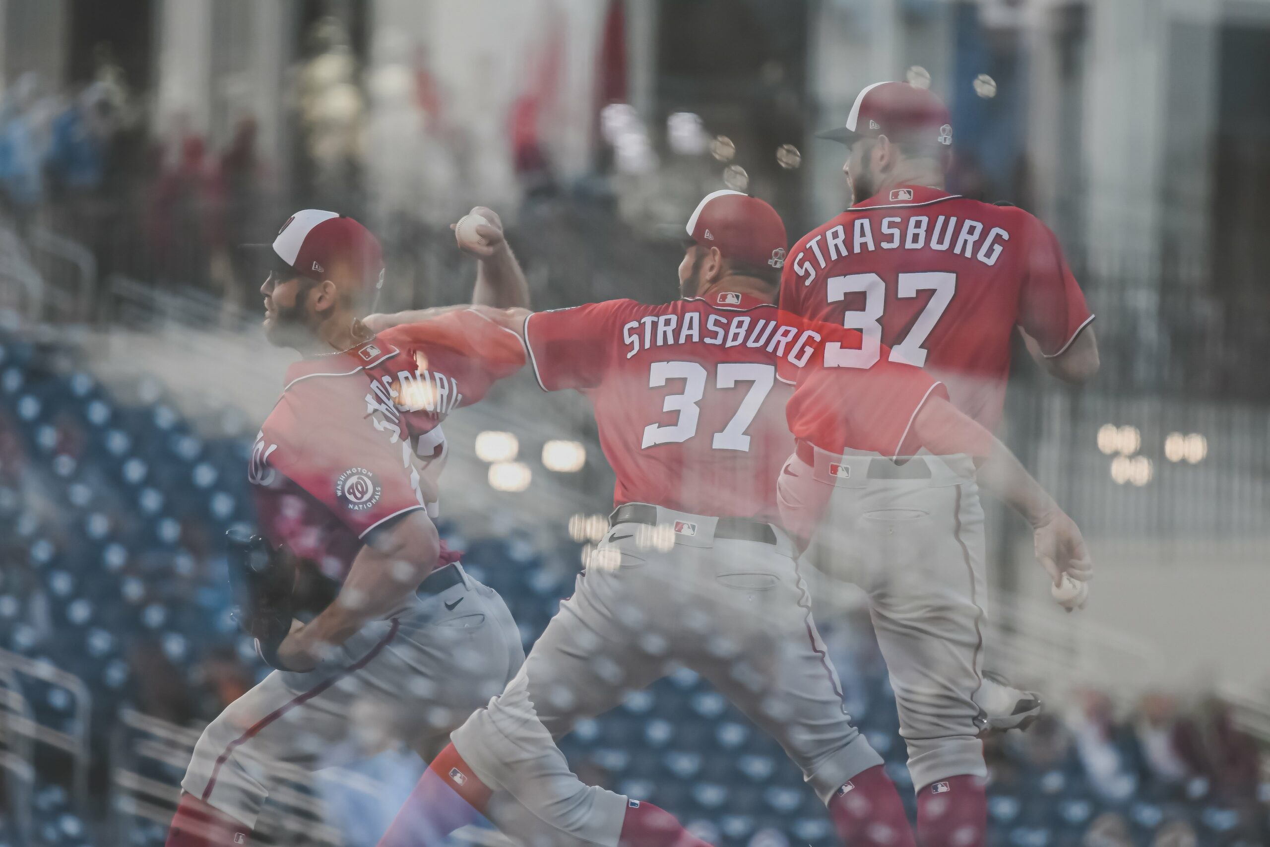 Stephen Strasburg Pitching